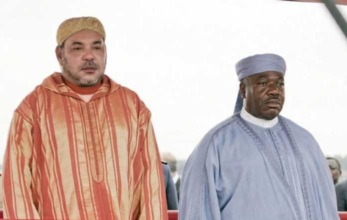 Mohammed VI rend visite à Ali Bongo à l'hôpital militaire de Rabat